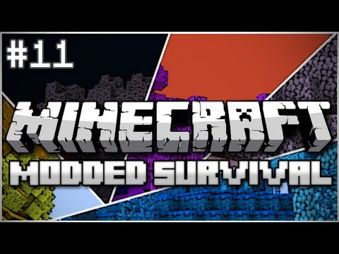 Minecraft: Modded Survival Let's Play Ep. 11 – Follow the Leader