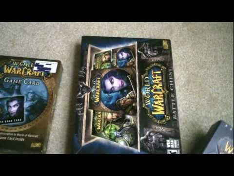 ~Unboxing~ World of Warcraft Battle Chest, Cataclysm, Game Card ASMR… Request 10