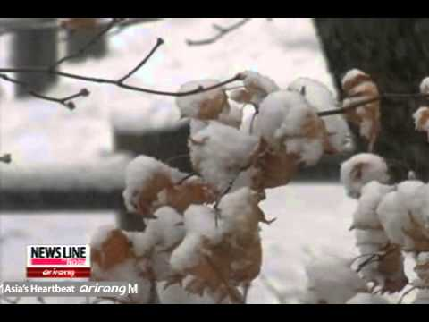 Korea Experiences Coldest Early December in 27 Years [Arirang NEWS]