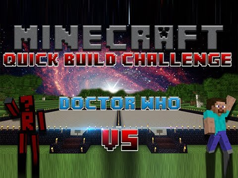 Minecraft Quick Build Challenge – Doctor Who!