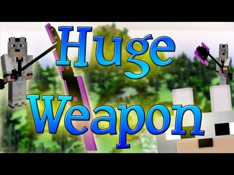 Minecraft Mods – Huge Weapon 1.3.2 Review and Tutorial