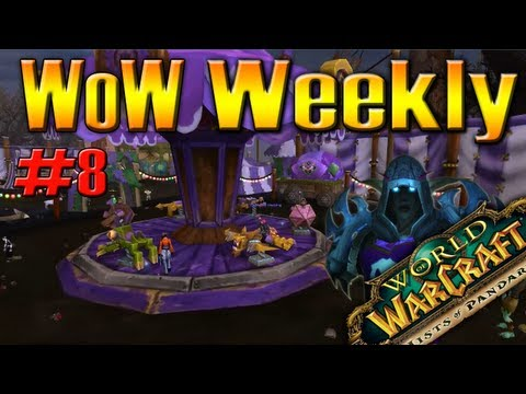 World of Warcraft WoW NEWS #8 w/ QELRIC (3rd Dec 2012)