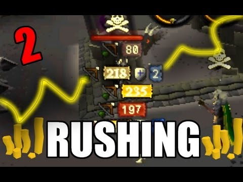 Runescape – Attempting to go Rushing 2 – With Funny Commentary!