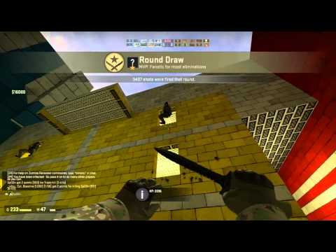 Counter Strike Global Offensive ZOMBIES w/ Nova part 4