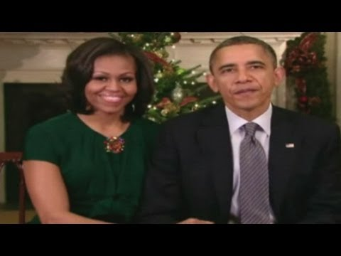 President Obama and First Lady Michelle's Christmas message