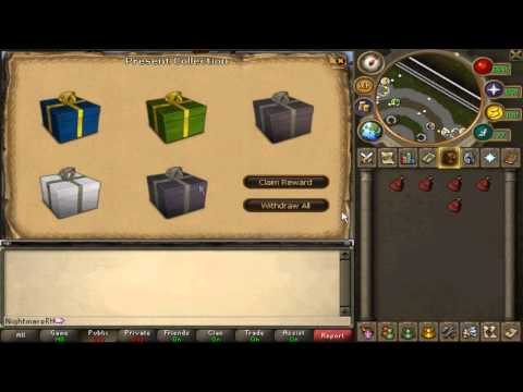 ALL Runescape Christmas Presents Rewards!