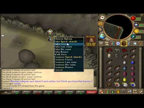 Runescape Luring Series – Runescape Framed Lure Commentary 29