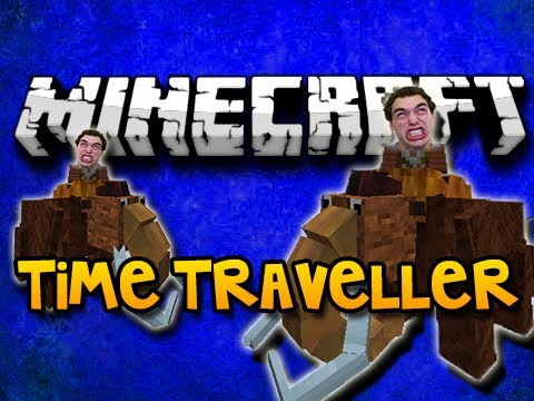 Minecraft Time Traveller Mod – MAMMOTHS, DINOSAURS, DNA