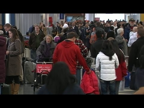 Stranded by Storms: Busy Travel Day Hit by Monster Storm