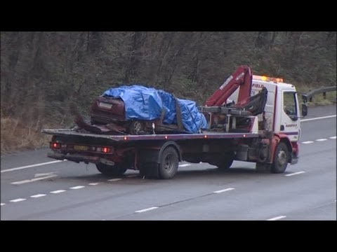 Woman and two children killed in M6 crash