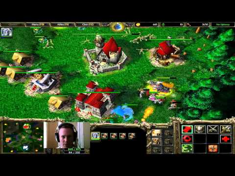 Warcraft 3 – Ghoul Rush 1 (2v2)