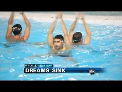 WEBCAST: Men's Synchronized Swimming Not Recognized As Sport