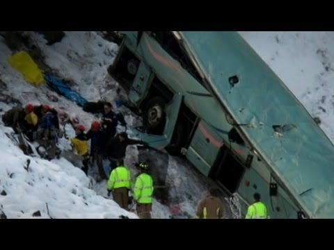 Oregon Bus Crash: 9 Dead on Icy Mountain Pass Called 'Dead Man's Pass'