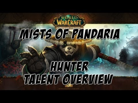 World of Warcraft: Mists of Pandaria – Hunter Talent Overview