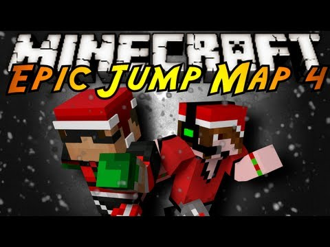 Minecraft: Epic Jump Map Christmas FINALE!