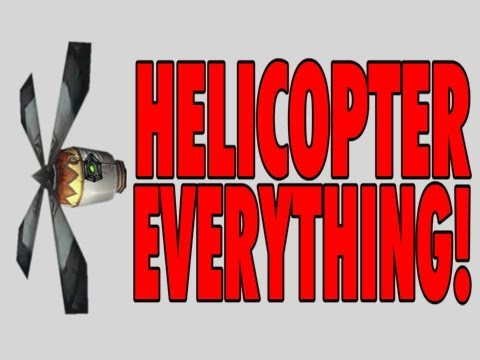 Helicopter Everything! in World of Warcraft by Ian Beckman