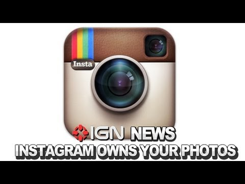 IGN News – Instagram Will Sell Your Photos