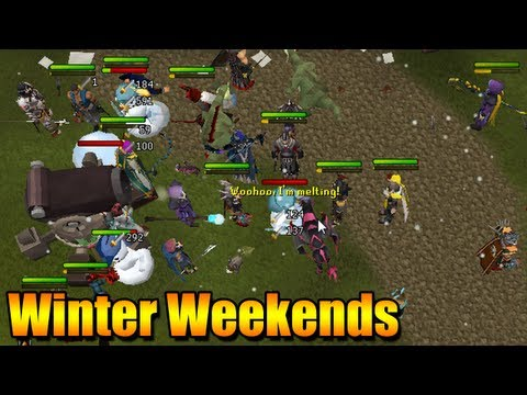 Runescape Snowman Event – Winter Weekends – Terrible Ending :(