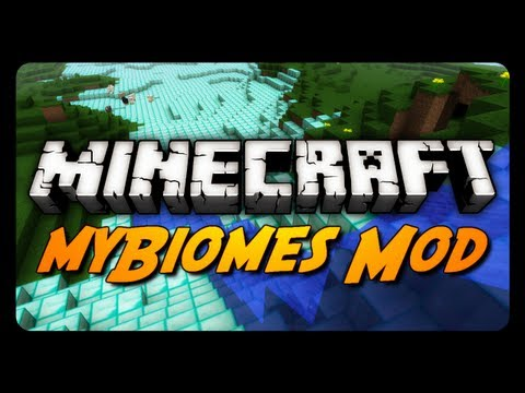Minecraft: myBiomes Mod! (Enable, Disable & Customize Biomes)