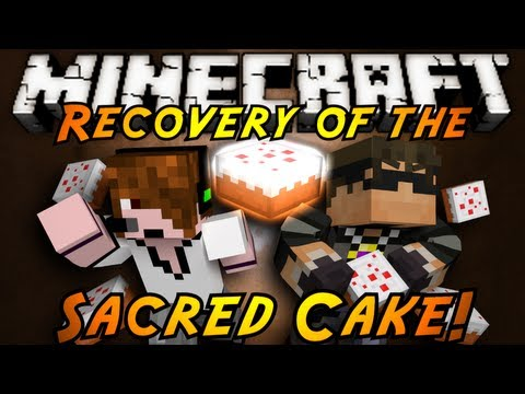 Minecraft: Recovery of the Sacred Cake Part 1!