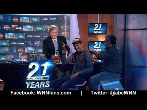 ABC World News Now – Insomniac Lounge: World News Now 21st Birthday