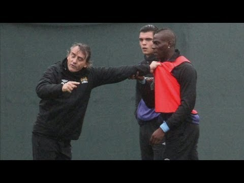 Mario Balotelli's future hangs in the balance at Manchester City after bust-up with Roberto Mancini