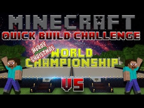 Minecraft Quick Build Challenge – World Championship! (Round 1, Match 4: nick666101 vs mrmweiss)