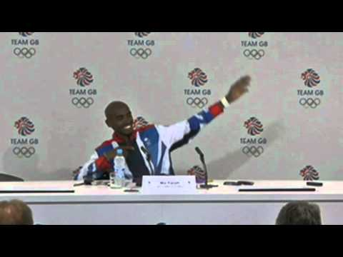 Mo Farah talks swapping celebrations with Usain Bolt at 2012 Olympics
