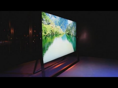 CES 2013 in 60 Seconds: Sneak Peak at Samsung's New S9 UHD TV