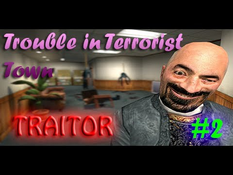 Bazza Plays: Gmod – Trouble in Terrorist Town – 1( TRAITOR TIME )