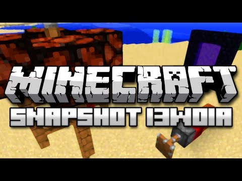 Minecraft: Trapped Chests, Redstone Blocks and More! (Snapshot 13w01a Part 2)