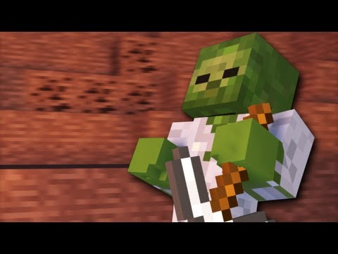 Mining Zombies – A Minecraft Animation