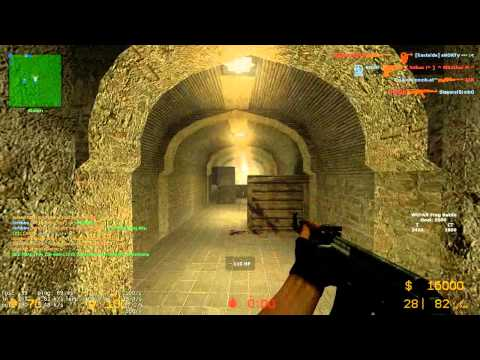 Let's Play – Counter-Strike Source Multiplayer #02 – Map: de_dust2_unlimited [HD]