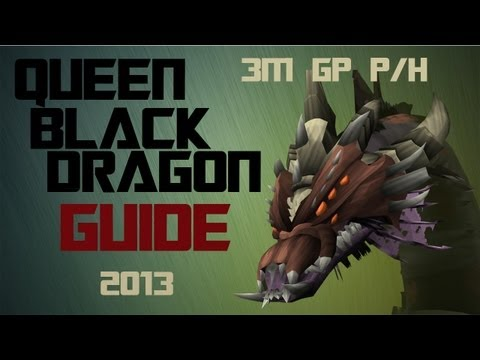 Runescape EoC Queen Black Dragon Guide 2013| 2m-3m Money Making Method|How to kill QBD in the EoC